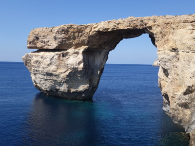 Azure Window - also a great site for scuba diving on Gozo