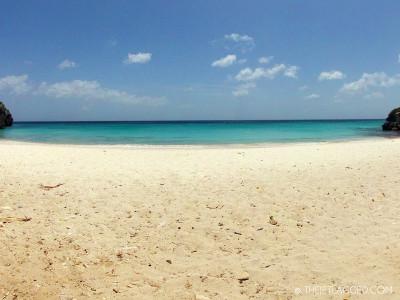 beautiful beach on curacao