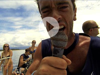 scuba diving music video